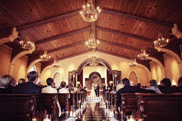 The Grand del Mar Chic Celebrations wedding ceremony